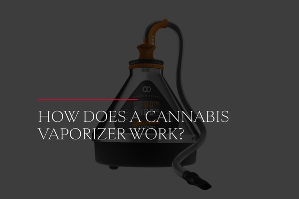 How Does a Cannabis Vaporizer Work?
