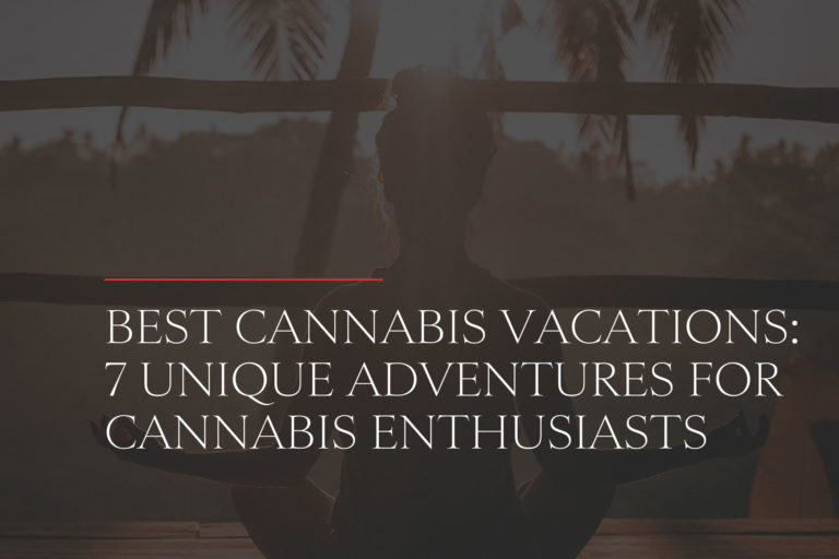 cannabis vacation for marijuana enthusiasts
