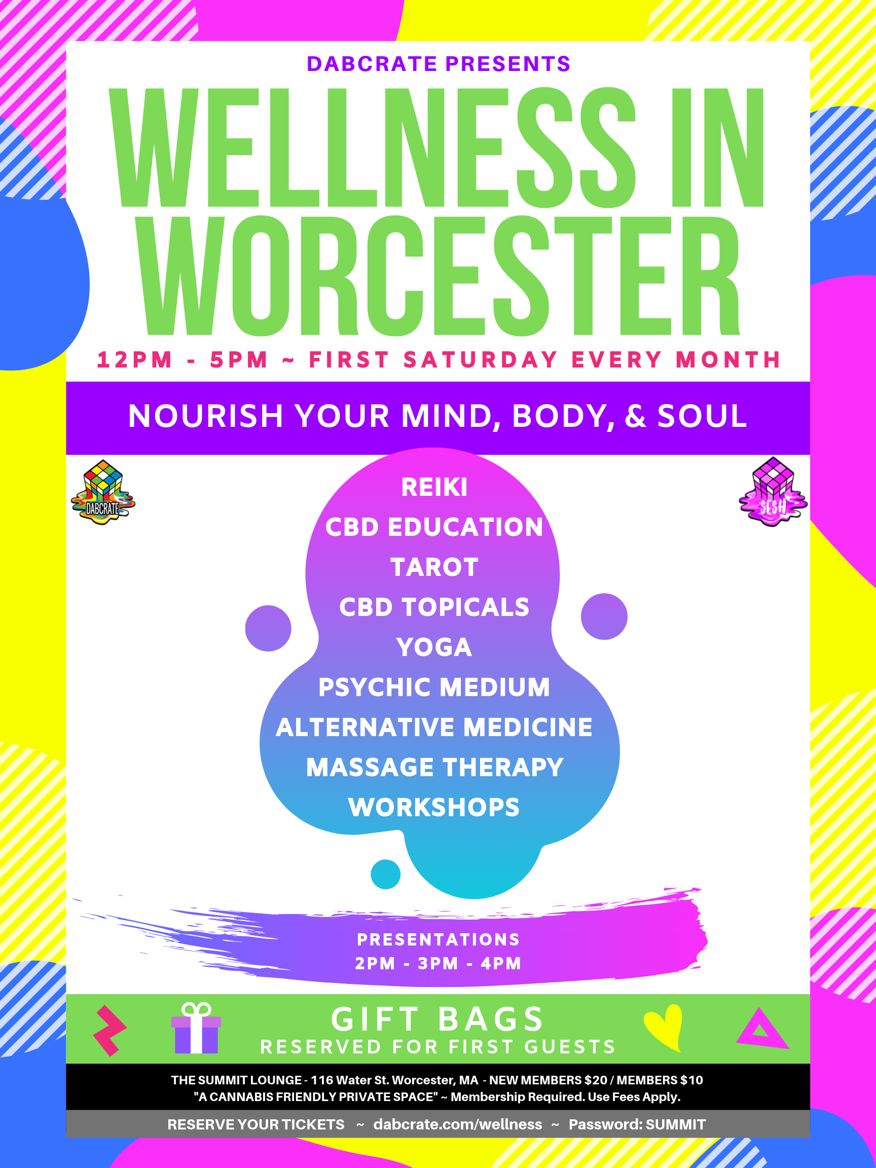 wellmess in worcester cannabis event
