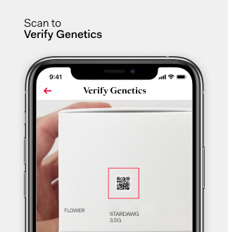Scan to verify genetics