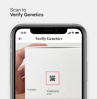 Scan to verify genetics