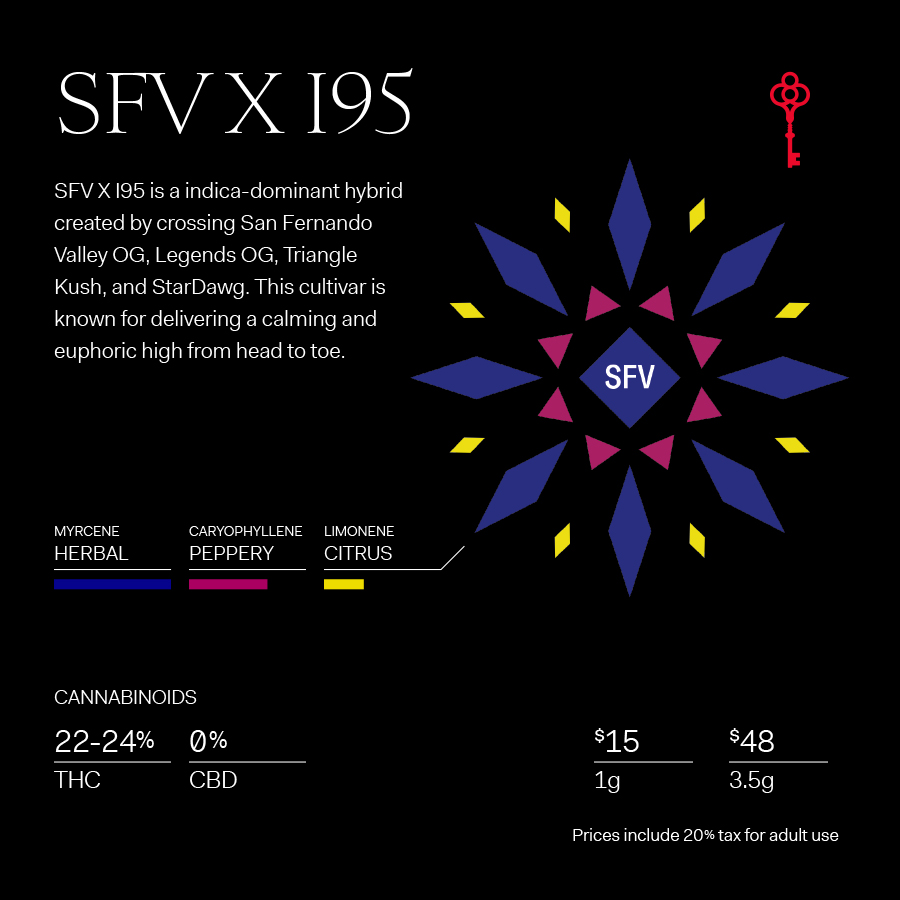 SFV X I95 Cultivar at Happy Valley